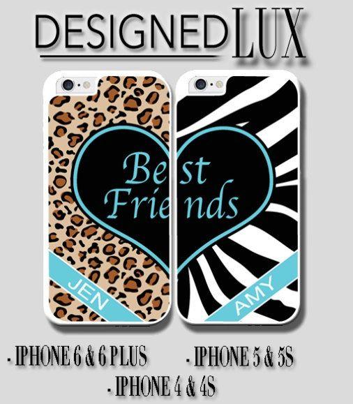 Best Friend Leopard/Zebra iPhone 6 Case/ iPhone 6 by DesignedLUX