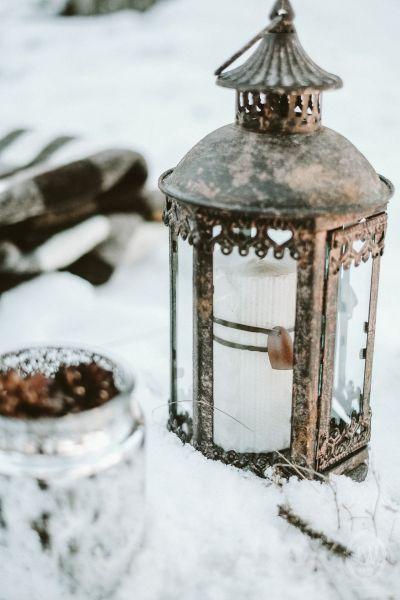 Une inspiration romance en montagne pour un mariage en hiver Image: 28