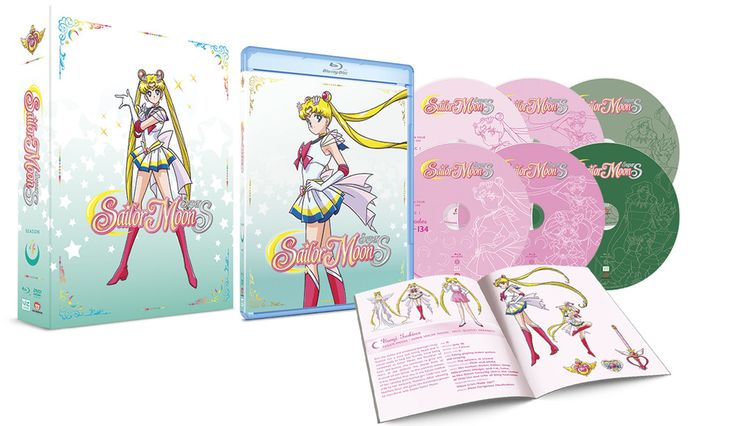 Sailor Moon SuperS Part 1 Limited Edition Blu-ray and DVD #sailormoon #anime #manga #geek #nerd