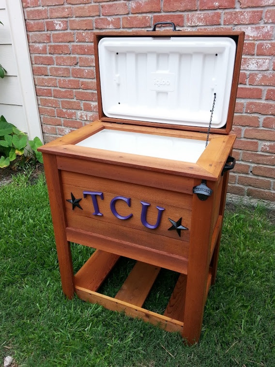 Captivating TCU Ice Chest / Cooler