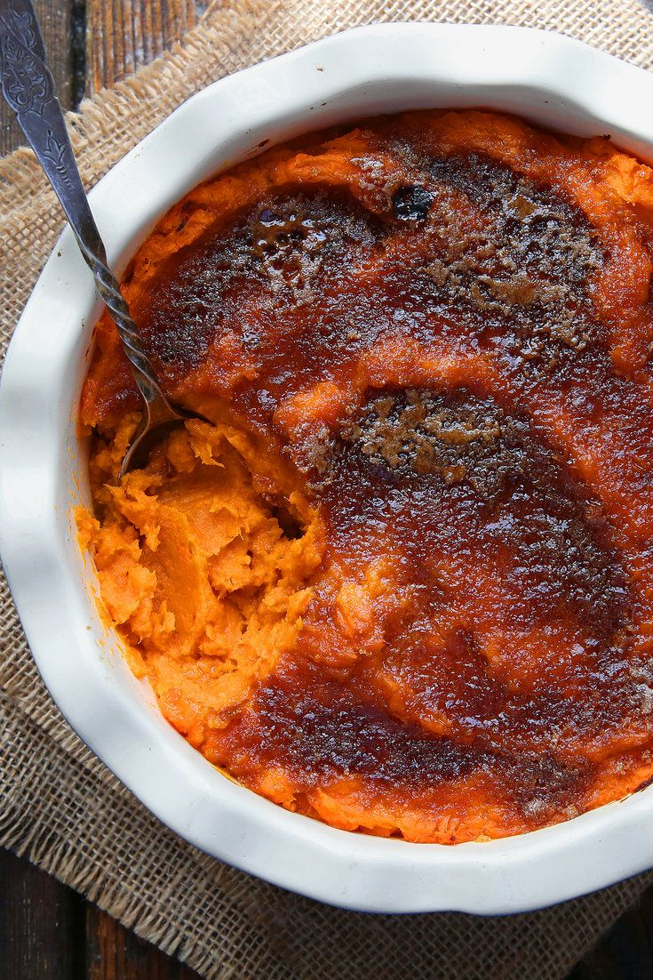 NYT Cooking: Coconut milk and fiery Thai spice paste turn up the heat, but the familiar brown sugar and butter are still part of the mix in this amazing and unexpected combination of flavors that would be a fine addition to any table from Thanksgiving through May.