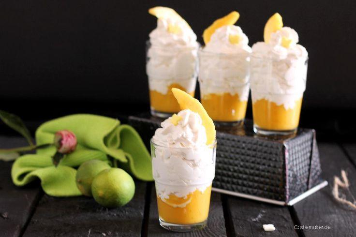 Schnelles Rezept: Fruchtige Limettencreme mit Mango ...