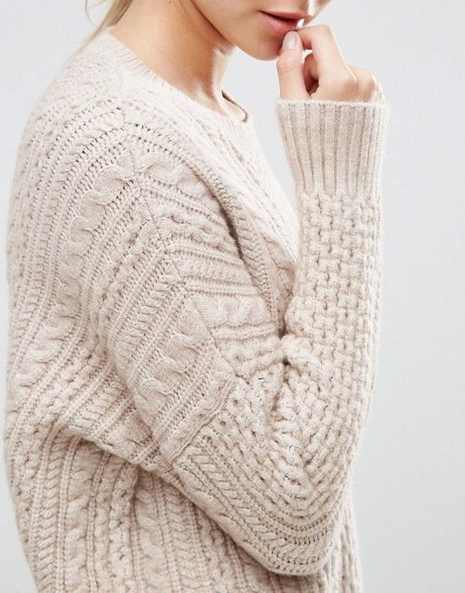 Asos slouchy sweater