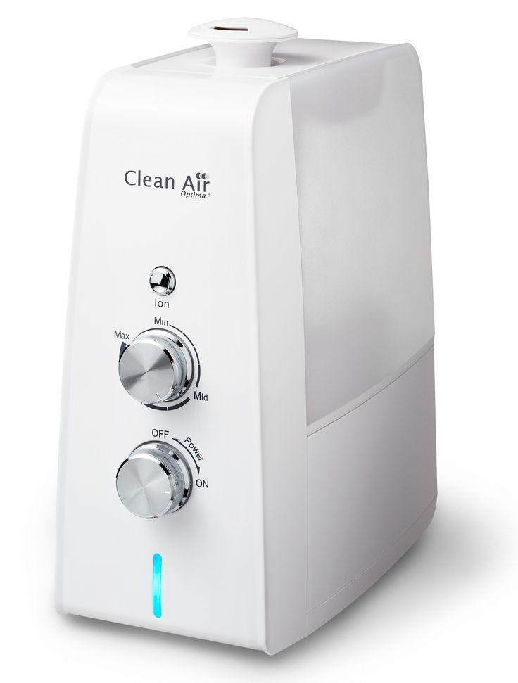 Luchtbevochtiger met ionisator CA-602 - Clean Air Optima - luchtreiniger, luchtbevochtiger, luchtreiniging, ionisator, aromatherapie, luchtverfrissers, luchtzuivering, bevochtiger, luchtreinigers, luchtbevochtigers, allergie, hooikoorts, sigarettenrook, astma