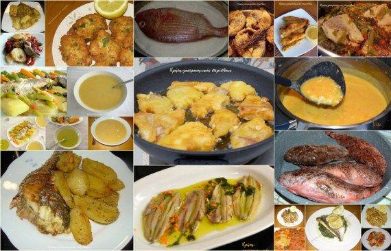 Η πρότασή μας 15: Μπακαλιάρος και άλλα ψάρια για το τραπέζι του Ευαγγελισμού