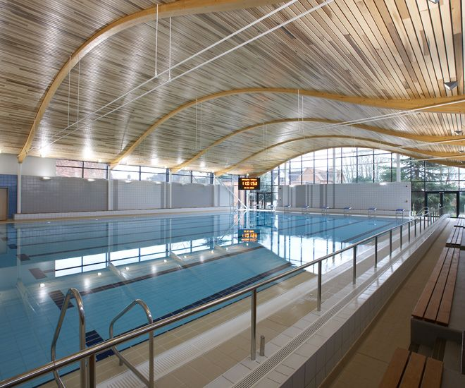 Buttress was appointed to design and create a new sports centre and swimming pool at Abingdon School in Oxfordshire.