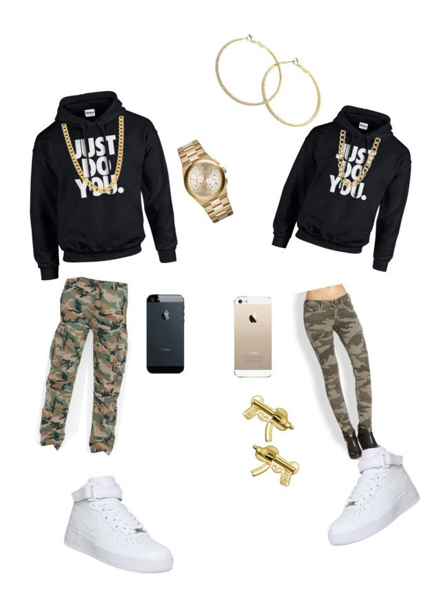Untitled #59 by leowitdaglo on Polyvore featuring polyvore, fashion, style, NIKE, True Religion, Michael Kors, 14th & Union, Levi's and clothing