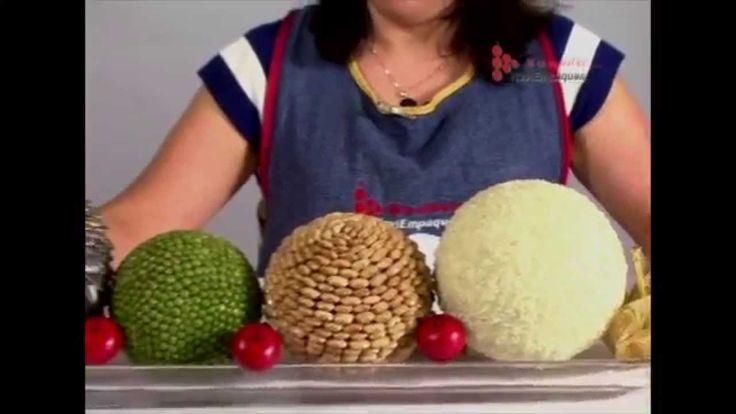 Bola de semillas con esferas de unicel