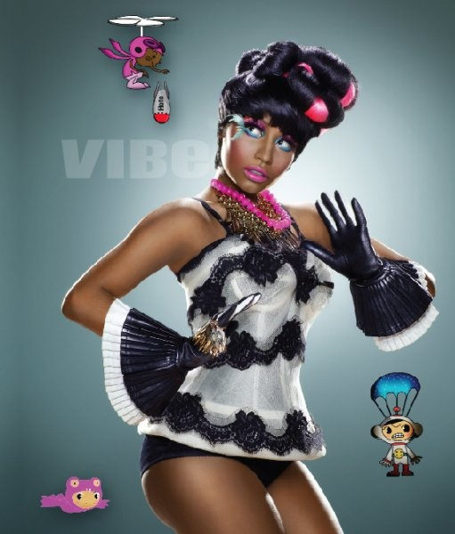 For the record, I liked Nicki Minaj even before I saw pictures of her.