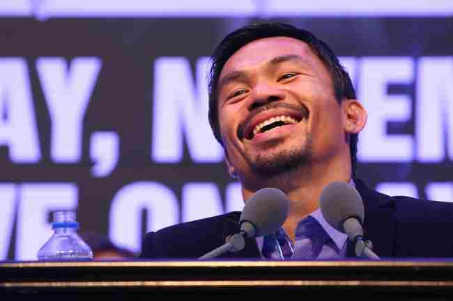 Manny Pacquiao's classic reaction to Mayweather's lavish lifestyle and wealth: I don't care just sign our fight contract and make boxing fans happy