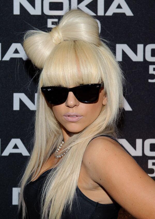 Lady Gaga's signature hair! still love it!