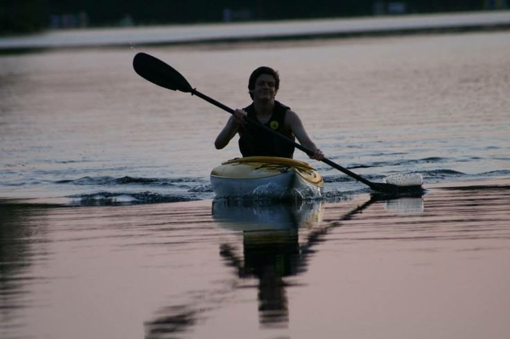 A paddle on leech lake