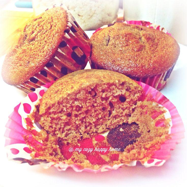 Muffins de framboesa/ Raspberry muffins