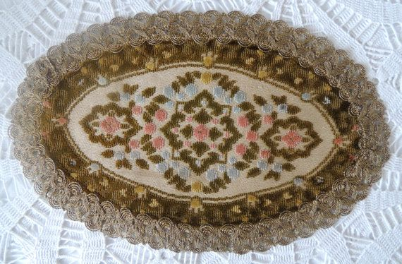 Vintage Table Napkin Vintage Tablecloth Vintage by dreambox4you