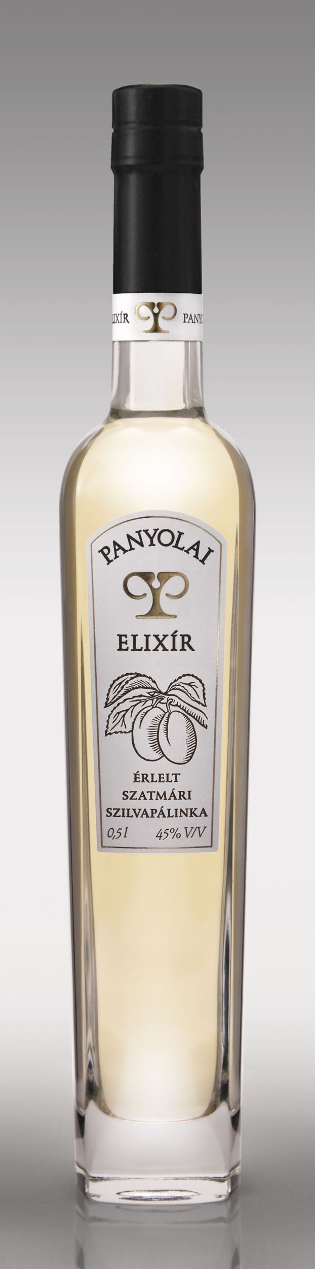 Panyolai Elixír Érlelt Szatmári Szilvapálinka - #hungarian premium #plum #schnapps