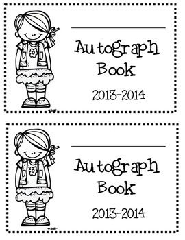 End of the Year Autograph Book 2 dates: 2014-2015, 2015