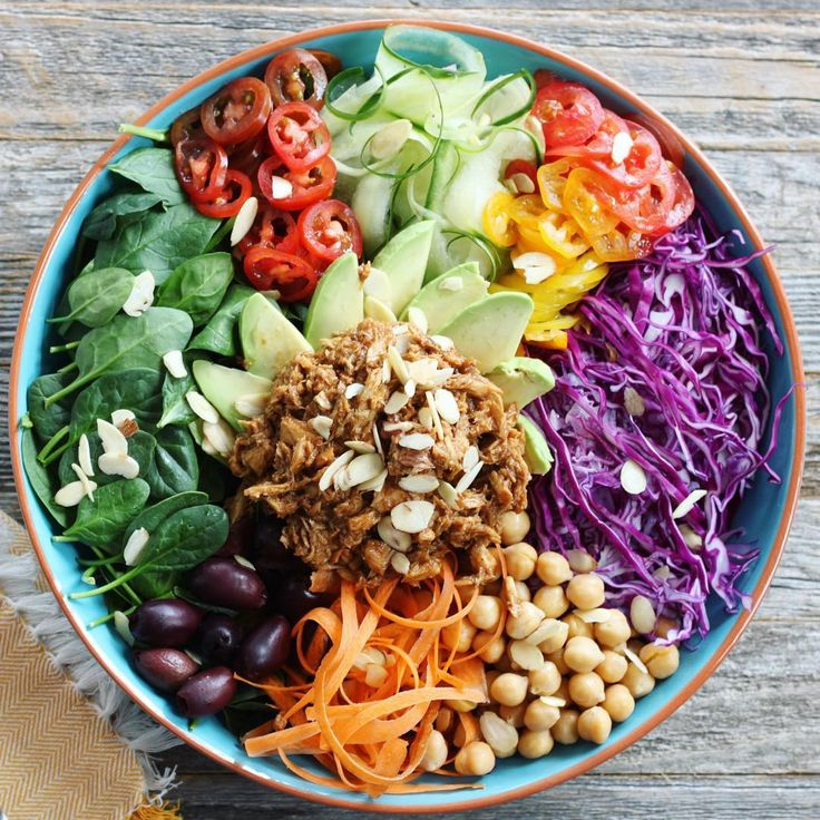 Schluss mit Salat und Sushi: Wir sind süchtig nach Powerbowls!