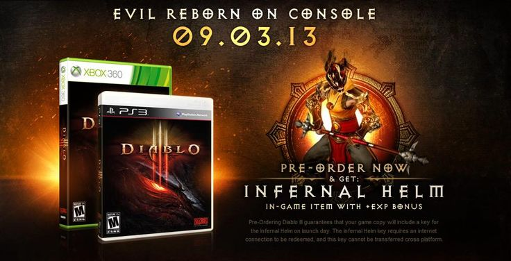 Diablo III PS3 and Xbox 360 Street Date Set (Yes, it's Coming to Xbox too!)