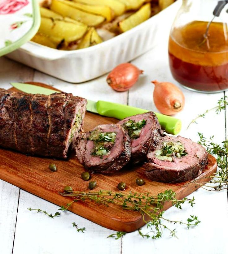 Fillet of Beef with Zesty Stuffing