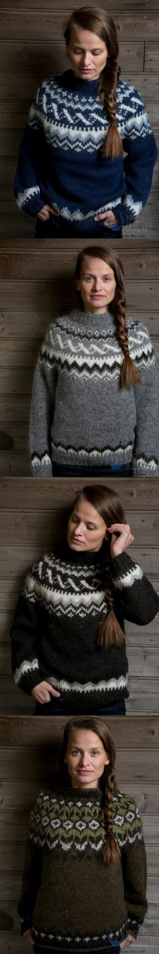 Love my Icelandic sweater so much