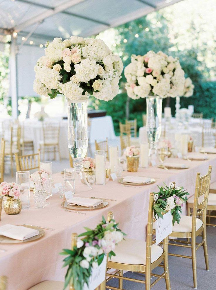1000 ideas about tall vase centerpieces on pinterest for Tall wedding table centerpieces