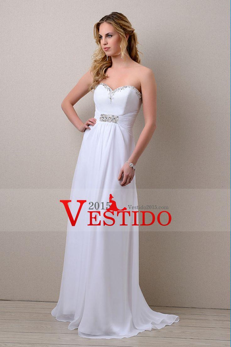 2014 vestido de novia de novia con cuentas escote con volantes princesa tribunal cola