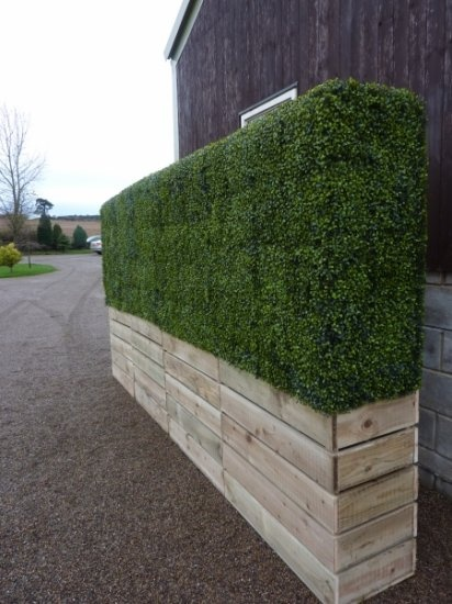 Artificial Hedging......Perfect for screening!