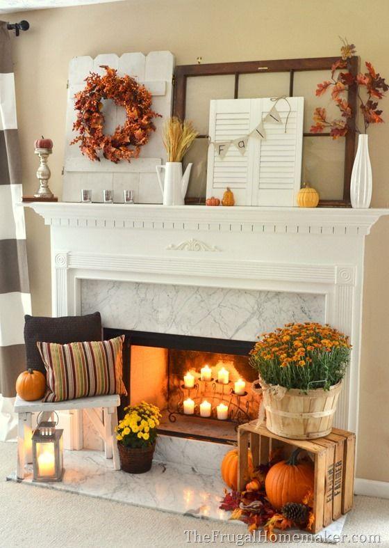 Best Fall Fireplace Ideas Only On Pinterest Fall Fireplace
