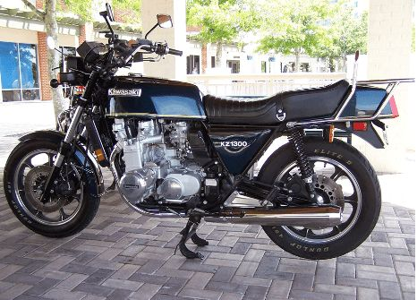 Kawasaki produced the longest manufacturing run of street bikes with a six-cylinder engine in the Z1300