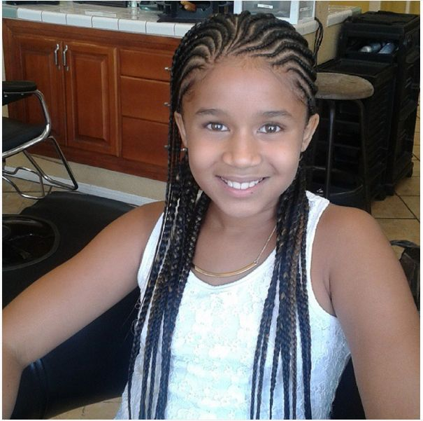Sensational 1000 Images About Little Girls39 Hair On Pinterest Cornrows Kid Short Hairstyles For Black Women Fulllsitofus