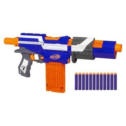 Nerf N-Strike Elite Alpha Trooper CS-12 Blaster - Online Item #: 12226657 Store Item Number (DPCI): 087-11-0118 $19.99