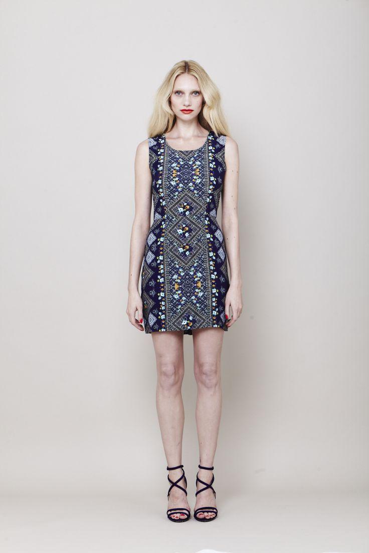 Diamond mini dress | Summer 13