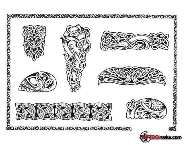 Celtic Symbols Knots Viking Art Maori Design Patterns Clay Ideas Tatoo Doodle Polymer