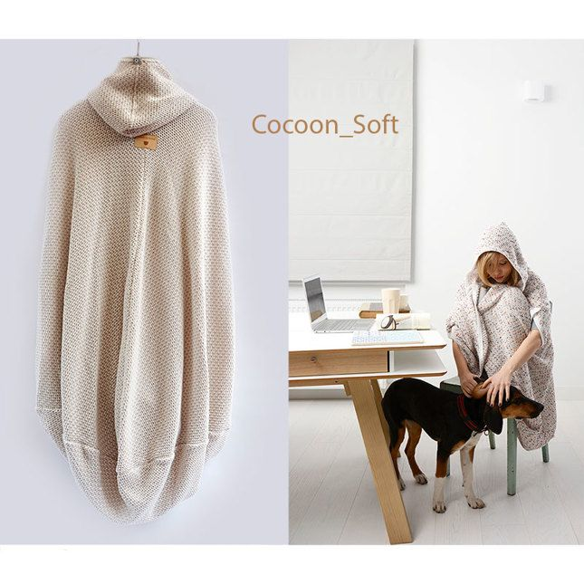 Baby it's cold outside! Cocoon_Soft by Boska`s Teddies.   #fashion #warm #poncho #cocoon #soft #Boska`sTeddies