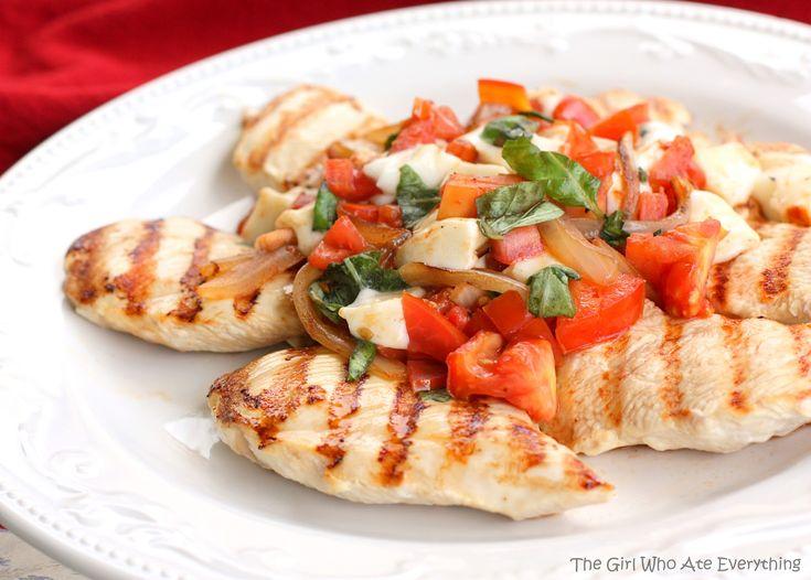 Recipe, Caprese Chicken, Chicken Dishes, Food, Summertime Caprese ...