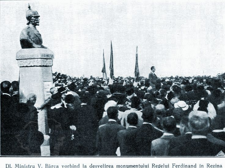 Plasa Rezina. Orașul Rezina-Târg. Monumentul Regelui Ferdinand I.