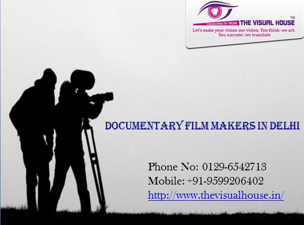 Looking for inspiration for your next documentary?  You have the best stories to tell. But capturing them on film and inspiring action with them can be complicated and exhausting. The question becomes how can you become a regular publisher of this content in order to gracefully capture your audience's attention, stay engaged with them and increase your influence over their decisions.   Contact us at:-  Phone No: 0129-6542713 Mobile: +91-9599206402 http://www.thevisualhouse.in/