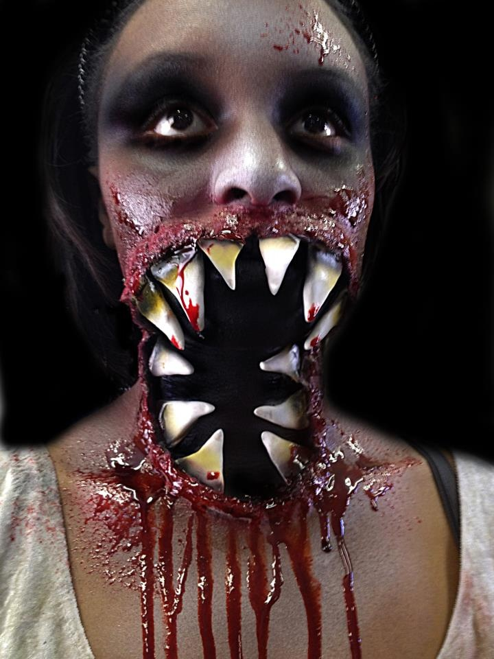 118 best Scary make up images on Pinterest   Costumes, Halloween ...