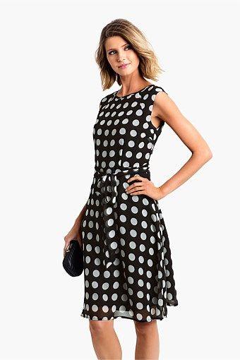 Capture Spot Dress - Big W