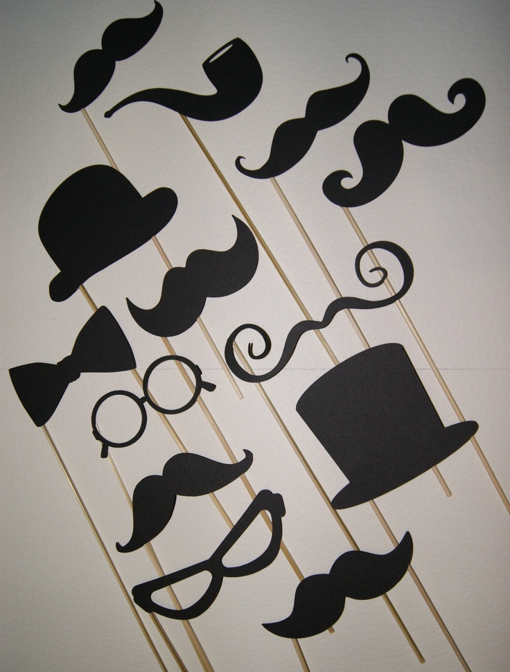Photo booth props | PARTY! | Pinterest | Photo booth