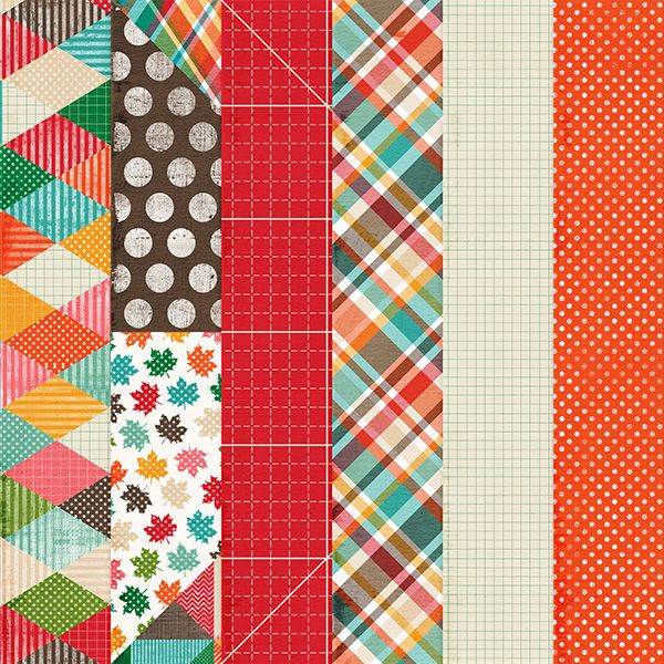 Free Fall Paper Pack from Harper Finch