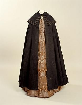 housekeeper uniform Europe, United Kingdom, England 1880-1890