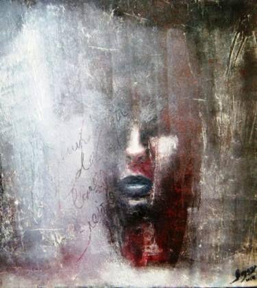 "Artist Faiza Bayou; Painting, ""Appartion"" #art"