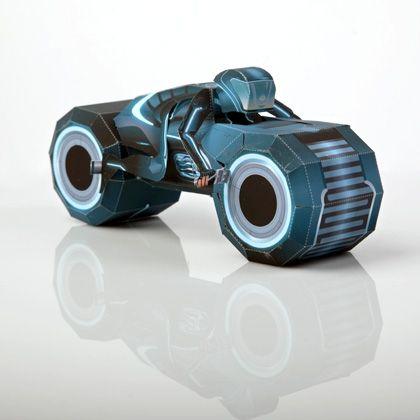 Tron 3D Light Cycle