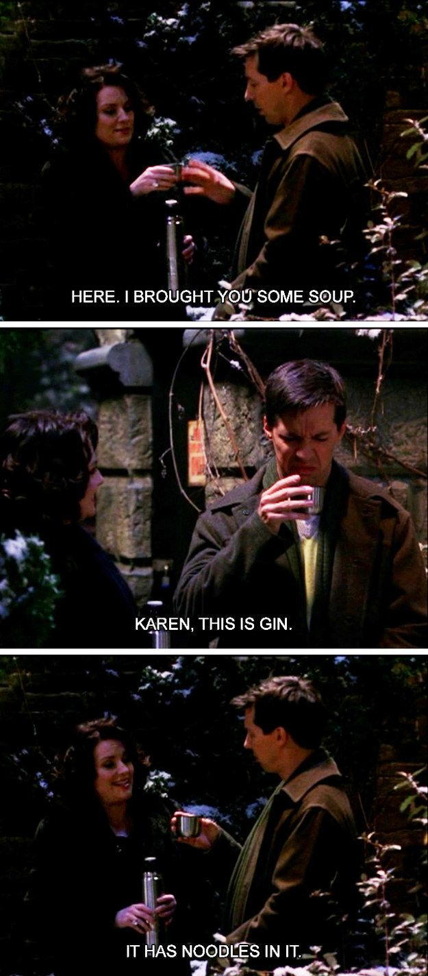 "G is for Gin. | The Alphabet According To Karen Walker Of ""Will And Grace"""