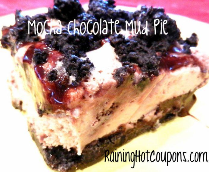 Mocha Chocolate Mud Pie Recipe