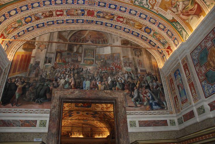 On my way to Sistine Chapel,Vatican