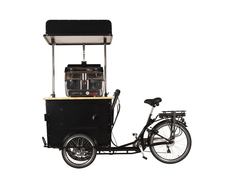 NEW on our shop: the Electric Coffee Trike!