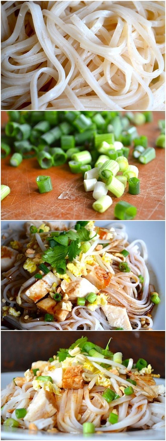 BETTER-THAN-TAKEOUT EASY PAD THAI (Alter a bit for H., but looks delicious!)