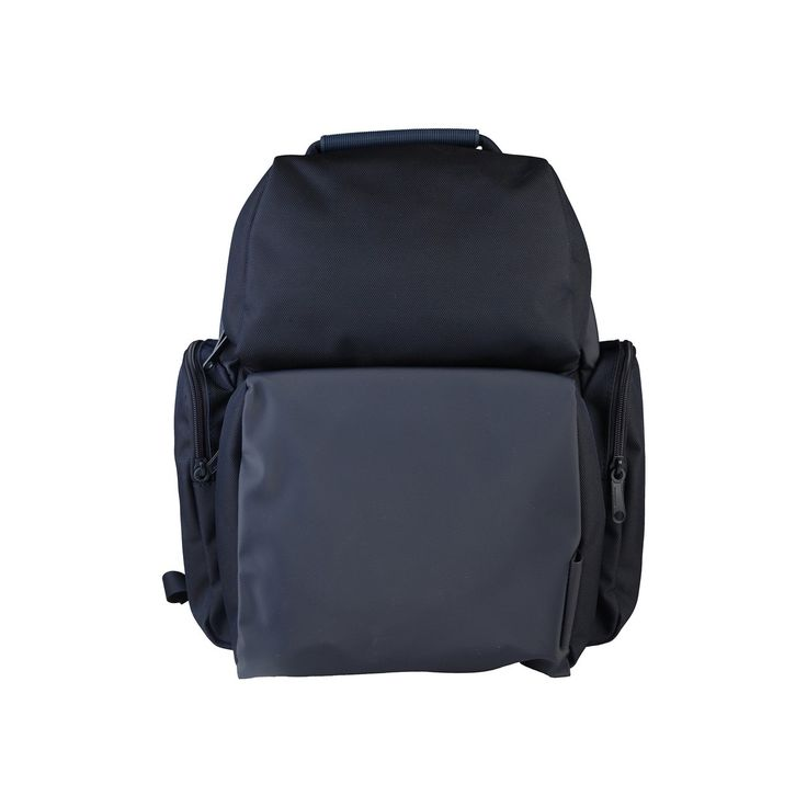 Mandarina Duck casual navy backpack. Great for travel, laptop, college, etc